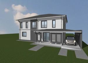 Proiect Casa P+1E Sacalaz